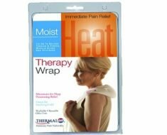 Thermalon Microwave Activated Moist Heat-Cold Compress Wrap for Back, Neck, Shoulder, Head, Abdomen