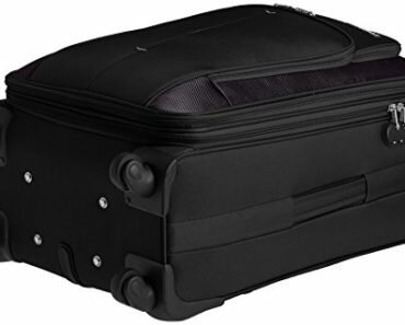 American Tourister Crete Polyester 67cms Black Softsided Suitcase