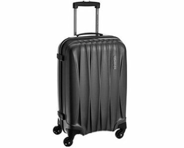 American Tourister Polycarbonate 79 cms Gunmetal Hardside Suitcase