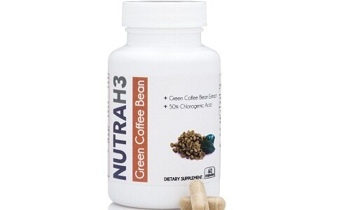 NUTRAH3 Pure Green Coffee Bean extract