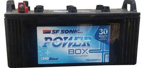 exide sf-sonic inverter battery power box - 150ah