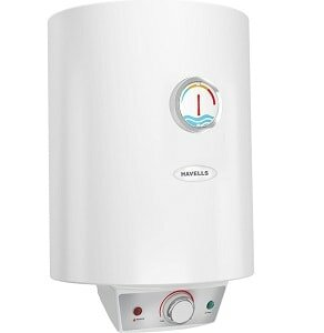 Havells 10 L Storage Water Geyser (White, Monza EC)