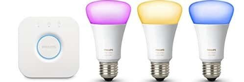 Philips Hue Starter Kit with 10-Watt E27 Bulb