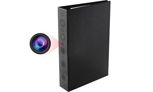 Conbrov HD Spy Home Security Book Camera