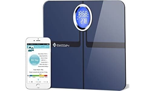 IDAODAN 440 lbs Body Fat BMI Scale and Body Composition Weight Analyser
