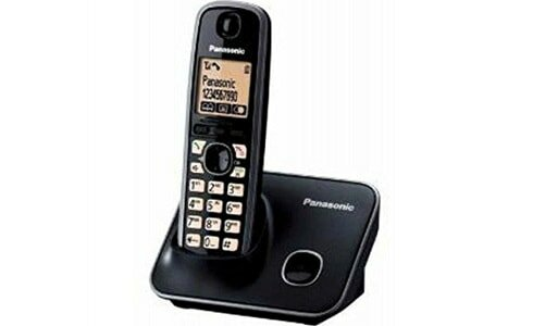 Panasonic Single Line 2.4 Ghz KX-TG3711SX Digital Cordless Telephone