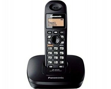 Panasonic Single Line 2.4GHz KX-TG3611SXB Digital Cordless Phone