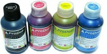 ProDot All Inkjet Printers Ink 100 ml Multicolour Set Of 4 (Cyan, Magenta, Yellow, Black)