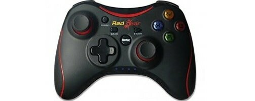 RedgearPro Series Wireless Gamepads withBuilt-in rechargeable battery and Plug and Play support for all PC games supports Windows