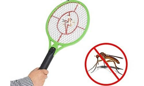 WebelKart Rechargeable Electric Insect Killer Mosquito Racket