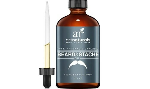 Art Naturals Organic Beard Oil & Leave-in Conditioner