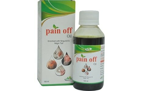 Jain Ayurvedic Pain off Oil (100ml)